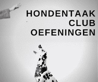 Hondentaak club oefeningen